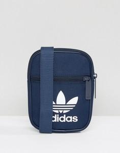 Сумка с трилистником adidas Originals BK6731 - Темно-синий