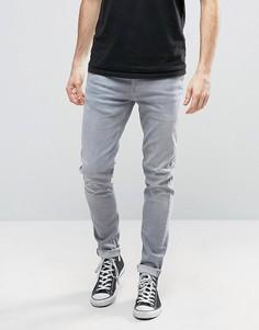 Серые джинсы скинни Pepe Nickel - Серый