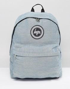 Выбеленный джинсовый рюкзак Hype - Синий