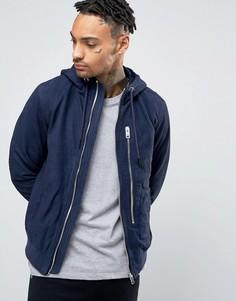 Замшевая куртка с капюшоном Diesel L-FLO - Синий