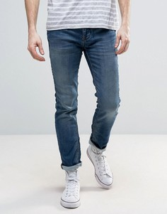 Узкие синие джинсы Selected - Синий
