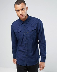 Рубашка с длинными рукавами G-Star Tacoma - Темно-синий