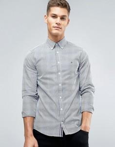 Рубашка в полоску узкого кроя на пуговицах Tommy Hilfiger Francky - Темно-синий