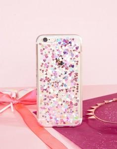 Чехол для iPhone 6/6S из гибкого пластика с сердцами Skinnydip - Мульти