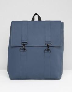 Синий рюкзак Rains - Синий