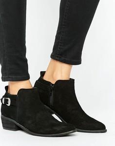 Ботинки с пряжками в стиле вестерн Ravel - Черный