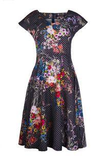 платье со струящейся  юбкой La Reine Blanche
