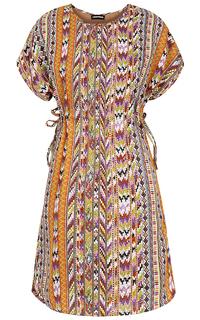 платье с этническим принтом La Reine Blanche