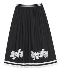 Пышная юбка с принтом Sfizio