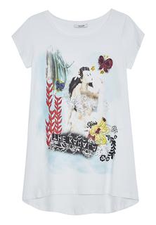 футболка с ярким принтом Sfizio