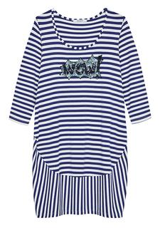 платье в морскую полоску Sfizio