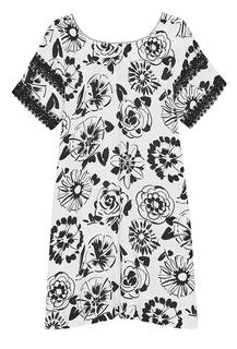 Платье с принтом Sfizio
