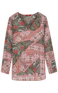 блузка с принтом пейсли S.Oliver Casual Women
