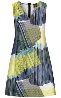 платье с принтом Persona