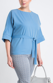 блузка с поясом LE Monique