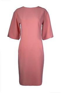 платье с объемными рукавами La Reine Blanche