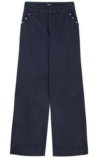 брюки-палаццо из денима Tom Tailor