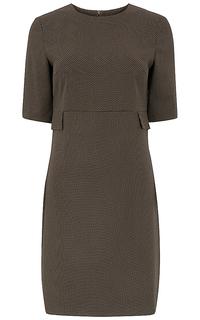 трикотажное платье-футляр La Reine Blanche