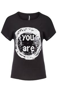 футболка с декором Desigual