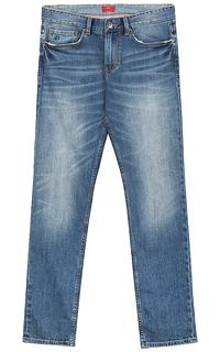 джинсы с потертостями S.Oliver Casual Man