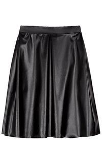 юбка из экокожи La Reine Blanche