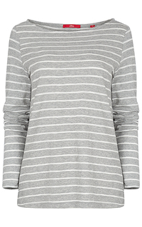 футболка в полоску S.Oliver Casual Women
