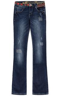 джинсы с потертостями Desigual