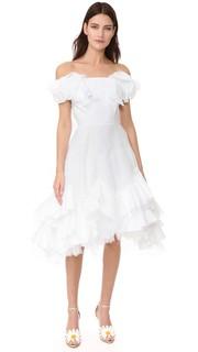 Платье без бретелек Natasha Zinko
