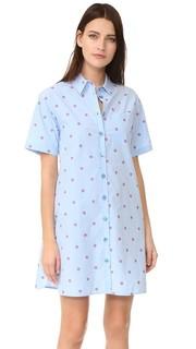 Платье на пуговицах Boutique Moschino