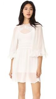 Платье с объемными рукавами McQ Alexander Mc Queen