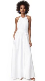 Платье из хлопка с открытой спиной Mara Hoffman