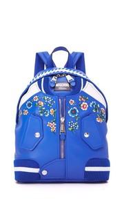 Рюкзак с отделкой в стиле бомбера Moschino