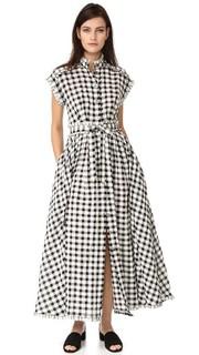 Платье «в пол» с короткими рукавами Rossella Jardini