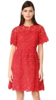Платье с короткими рукавами Giambattista Valli