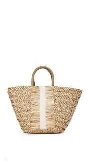 Объемная сумка с короткими ручками Seagrass Hat Attack