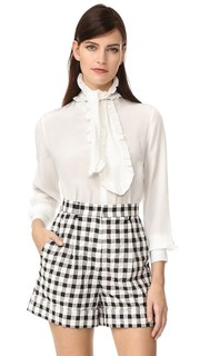 Блузка с воротником-галстуком Rossella Jardini