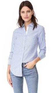 Классическая рубашка в полоску RAG & Bone/Jean