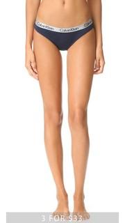 Хлопковые трусики-бикини Radiant Calvin Klein Underwear