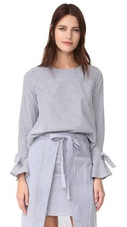 Блуза с расклешенными рукавами J.O.A.