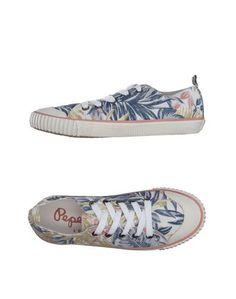 Низкие кеды и кроссовки Pepe Jeans