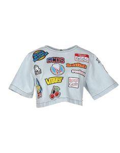 Джинсовая рубашка Gcds