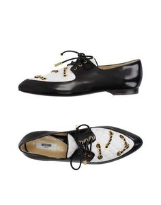 Обувь на шнурках Moschino Couture