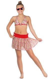 Купальник: бюст, плавки, юбка Arina by Charmante