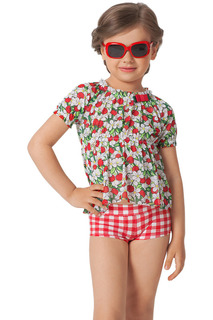 Комплект пляжный: топ, шорты Arina Festivita by Lora Grig