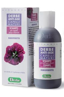 Шампунь для седых волос Derbe