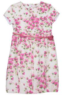 Платье с поясом Miss Blumarine