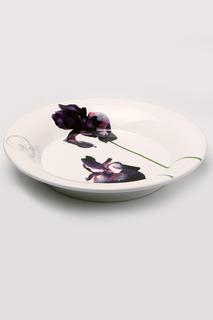 "Тарелка ""Черный ирис"", 28 см Ceramiche Viva"