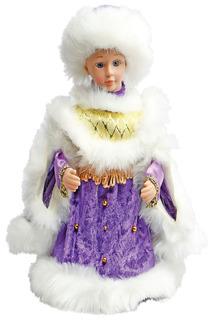 Снегурочка в фиолет.  30 см НОВОГОДНЯЯ СКАЗКА
