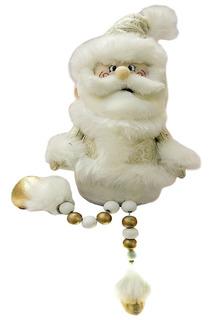 Кукла Дед Мороз 45 см, золото НОВОГОДНЯЯ СКАЗКА