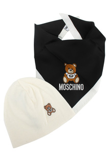 Комплект: шапка, платок Moschino
